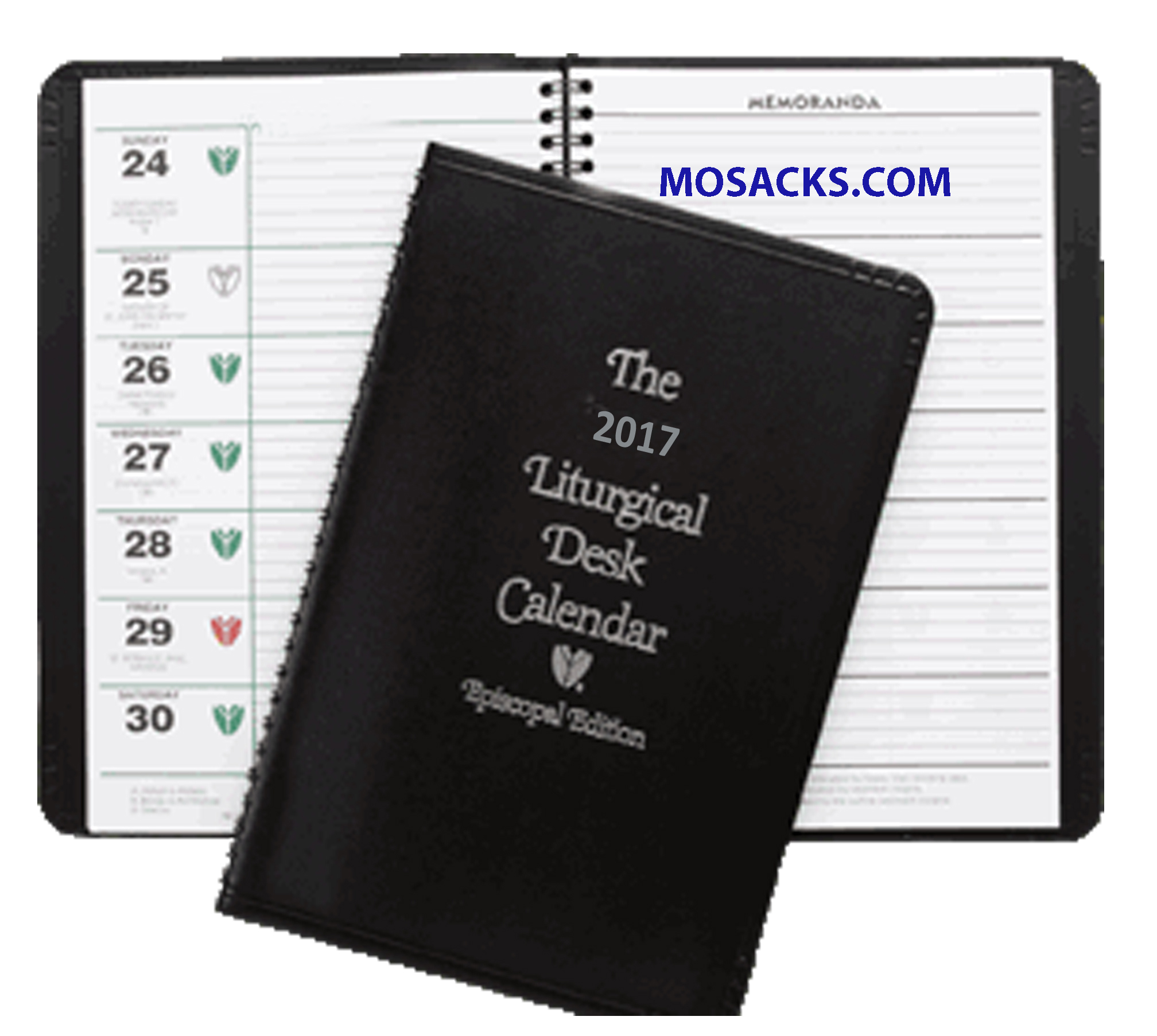 Liturgical Desk Calendar Episcopal Edition 2017