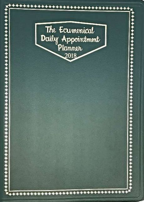 The Ecumenical Daily Appointment Planner 2018