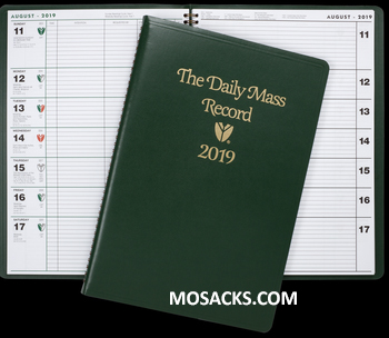 Daily Mass Record 2019