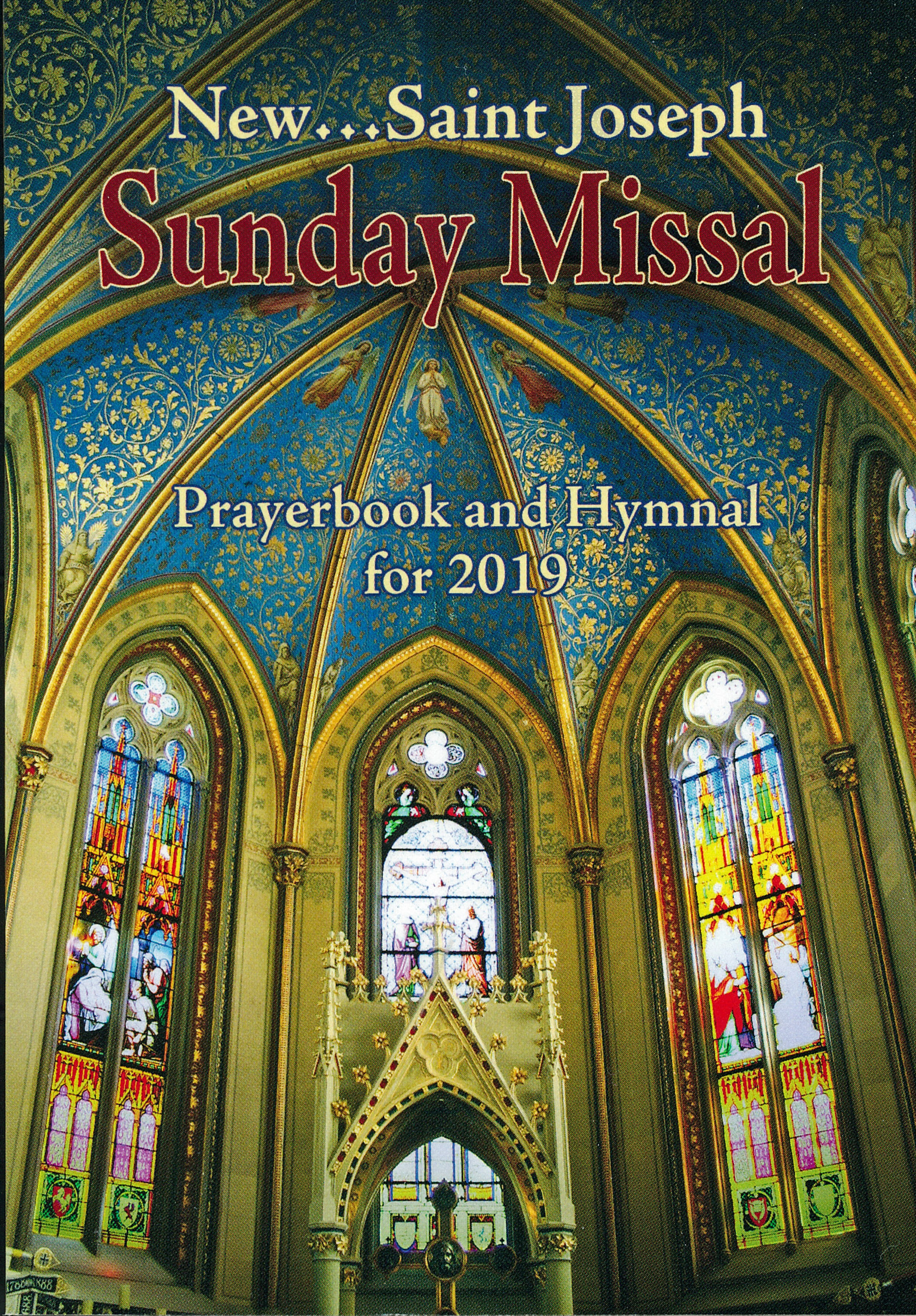 St. Joseph 2019 Sunday Missal, Prayerbook and Hymnal