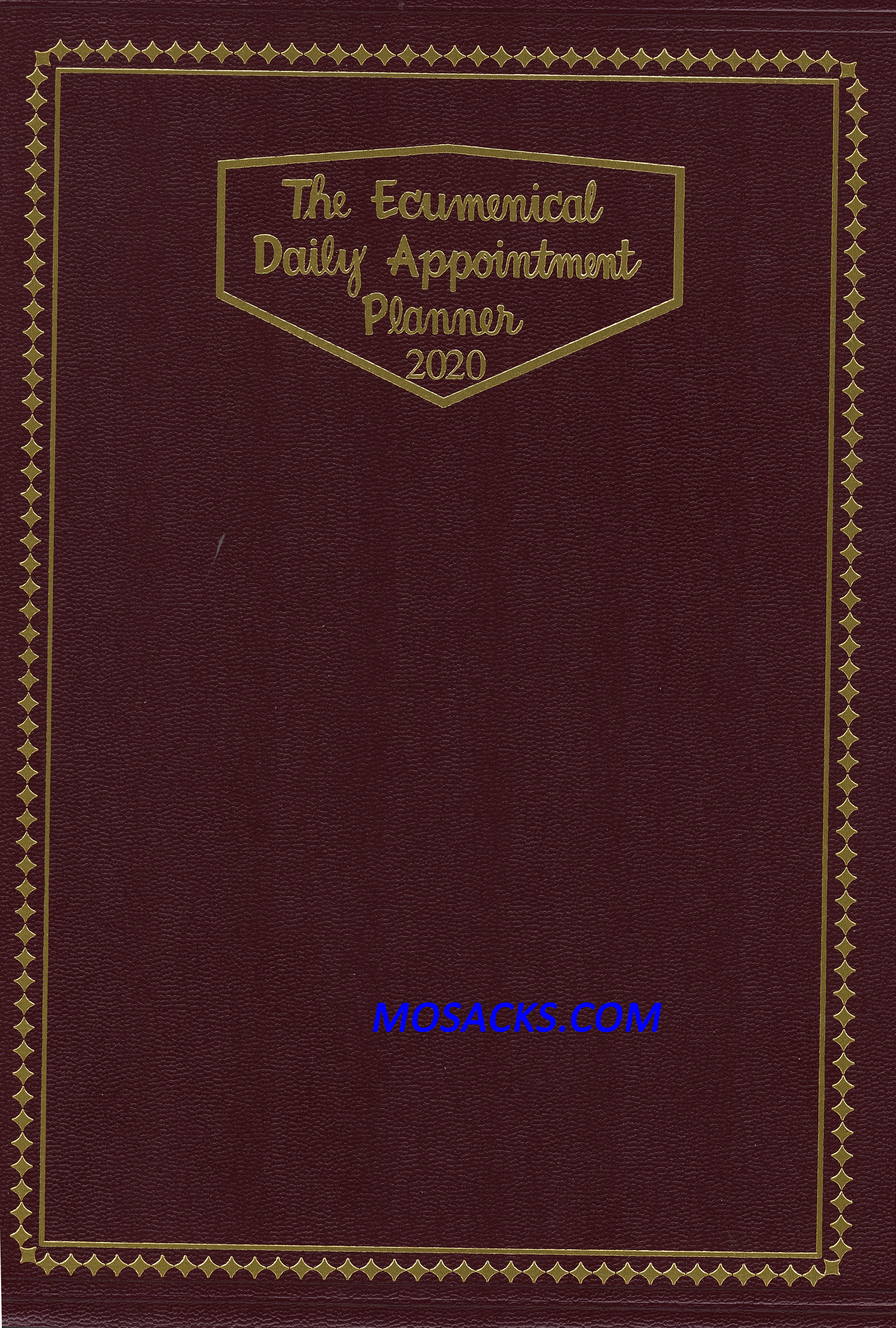 The Ecumenical Daily Appointment Planner 2020