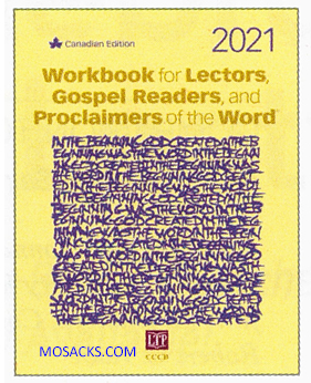 Workbook for Lectors, Gospel Readers, Proclaimers of the Word 2021CANADA -WL21C