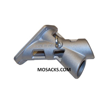 "2-Position 1-1/4 Inch Aluminum Bracket designed to be used with 1-1/4"" flag poles"