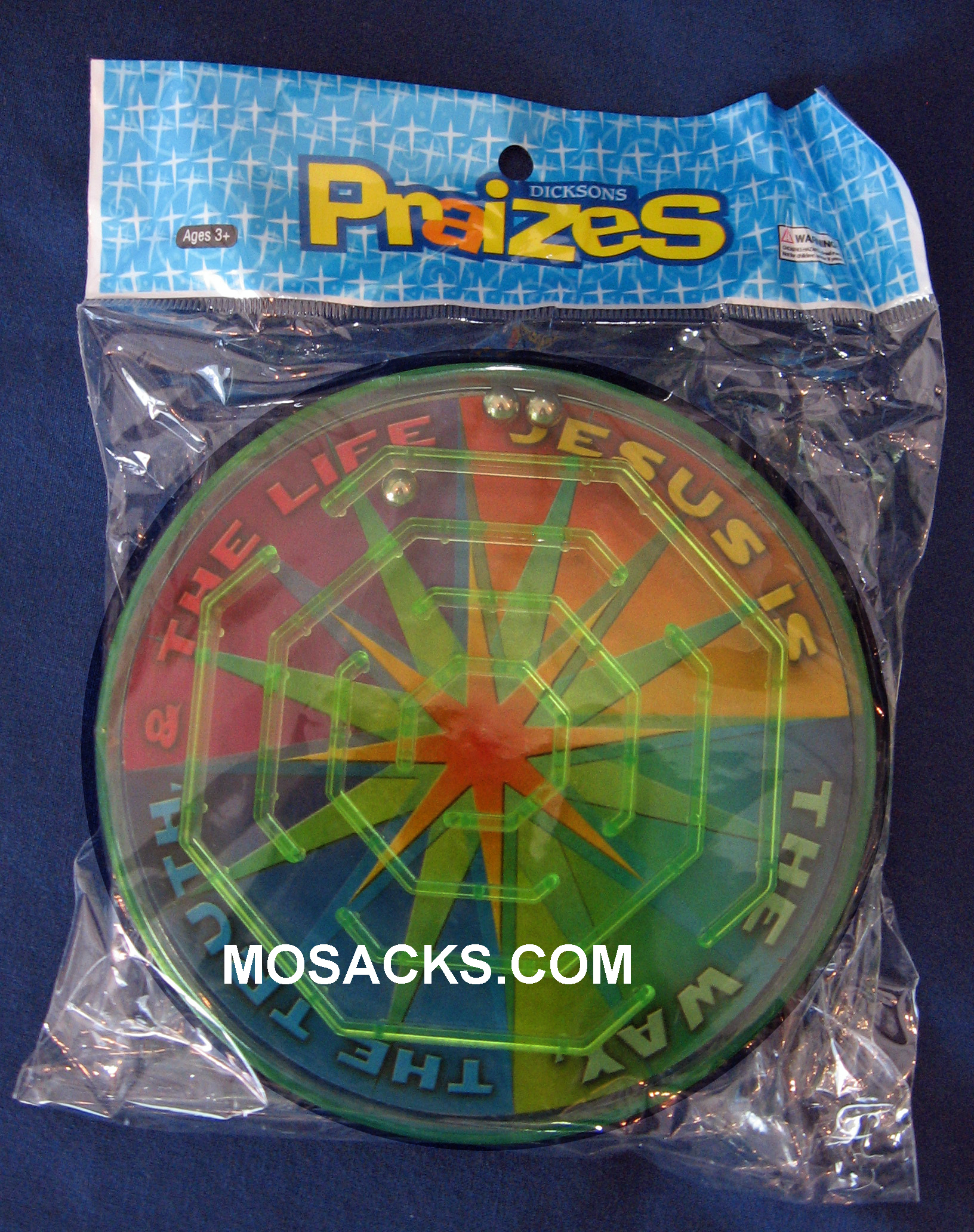 2 Sided Colorful Plastic Maze Puzzle Toy 71N398