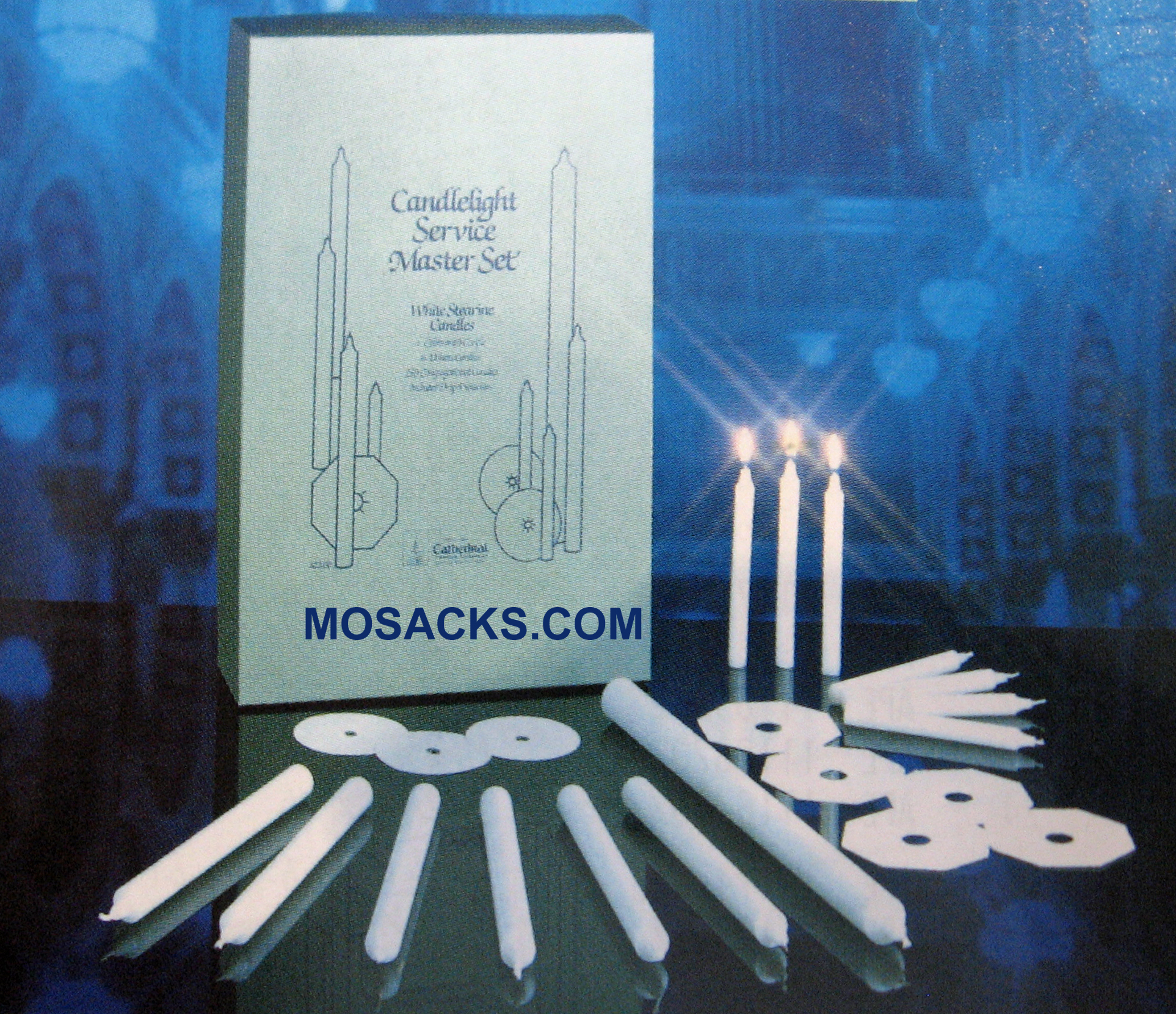 Candlelight Master Service Set for 425, Cathedral