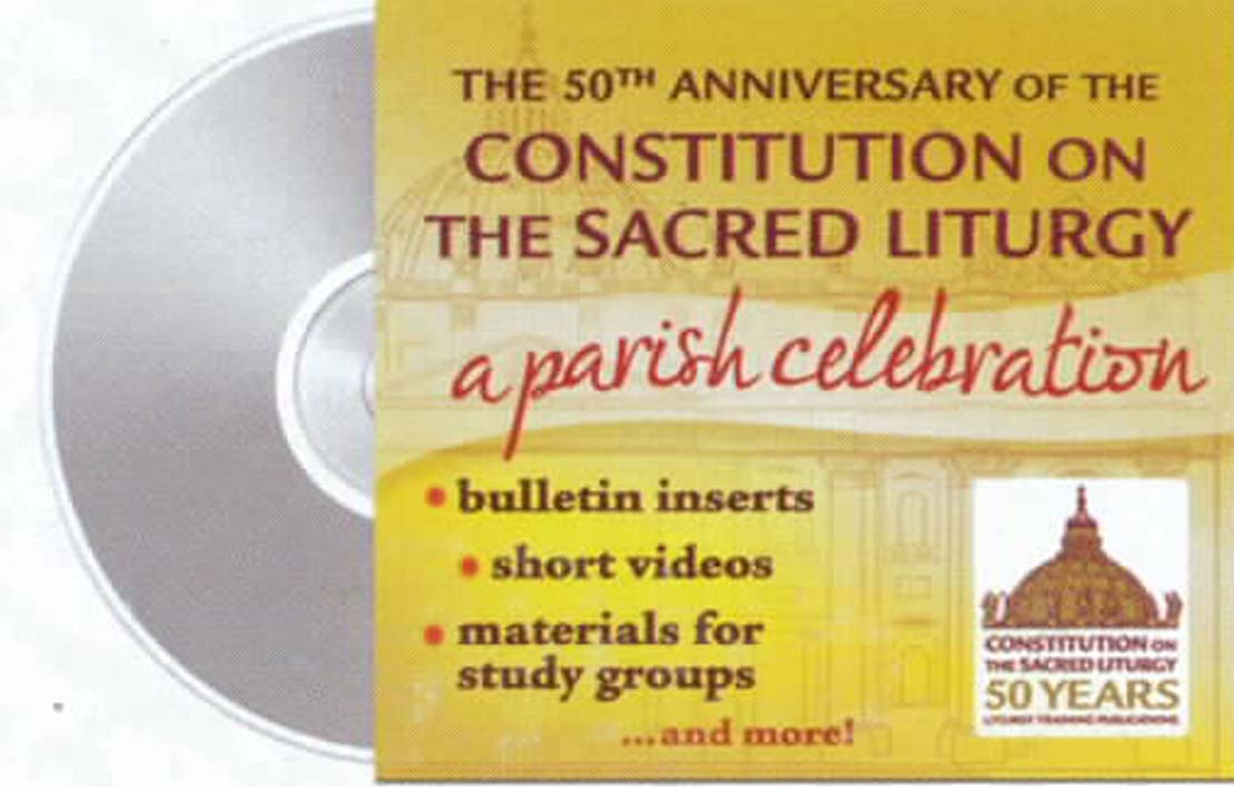 The 50th Anniversary of the Constitution on the Sacred Liturgy DVD/CD-ROM 120-9781616711320