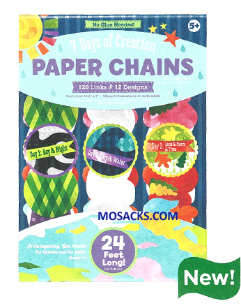7 Days Of Creation Paper Chains 462-W201566