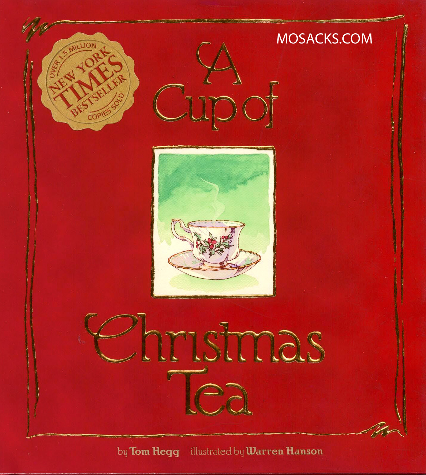 A Cup of Christmas Tea by Tom Hegg - New Edition coming