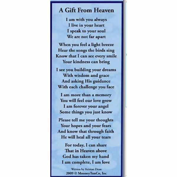 A Gift From Heaven Bookmark -GPC