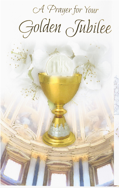 jubilee anniversary of religious life greeting cards