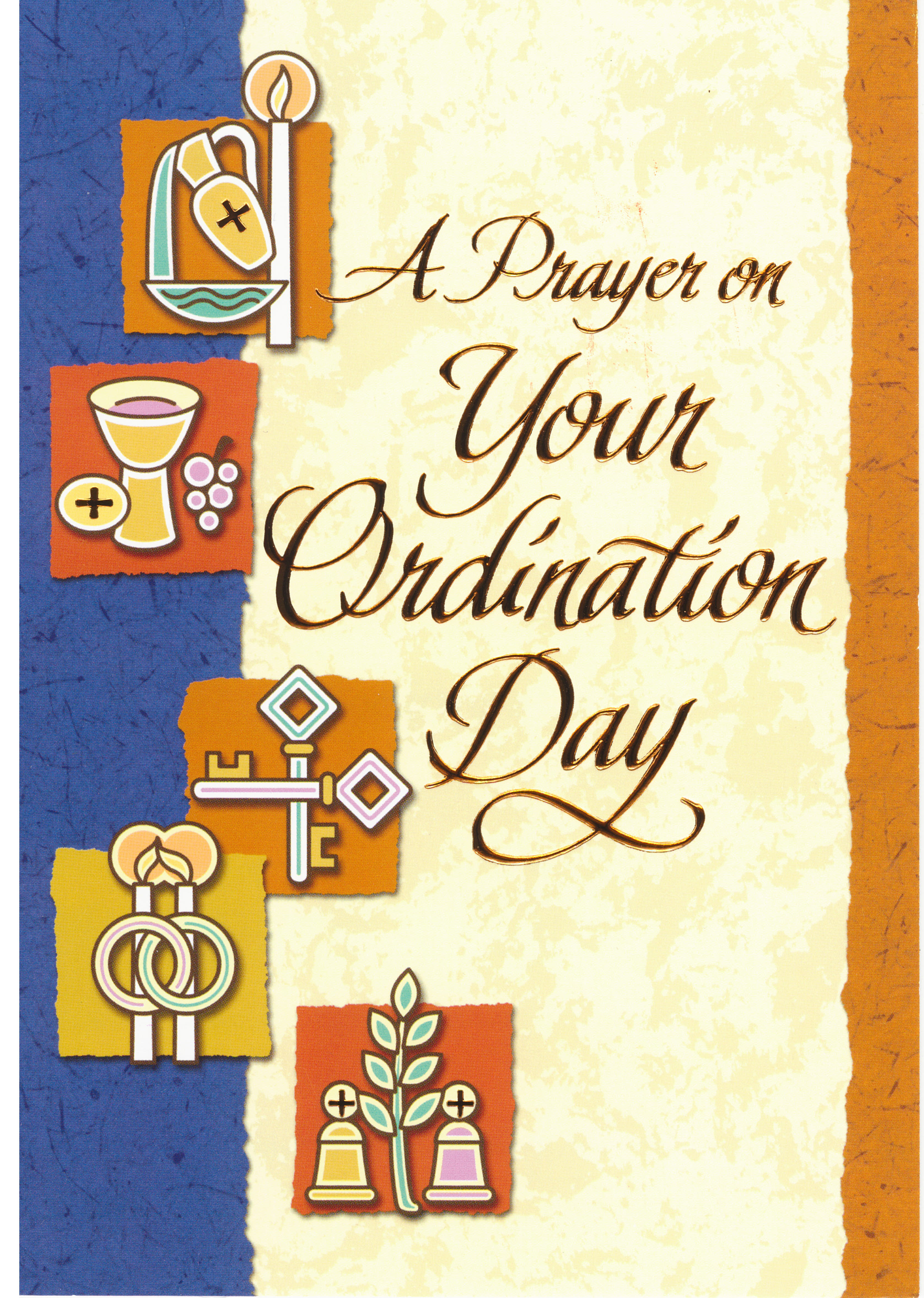 A Prayer On Your Ordination Day 277-CT7021