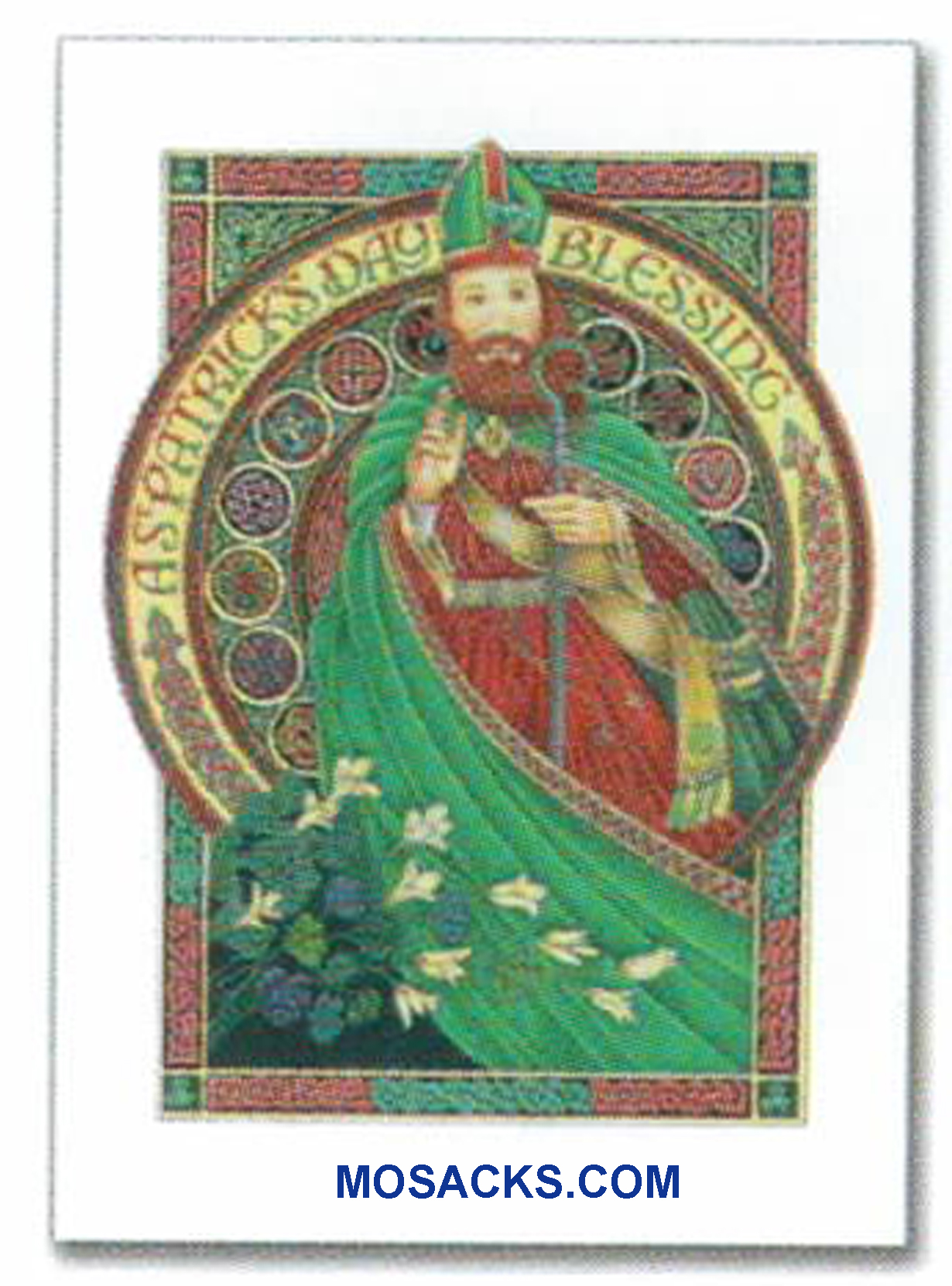 A Saint Patrick's Day Blessing Greeting Card -WCB1610