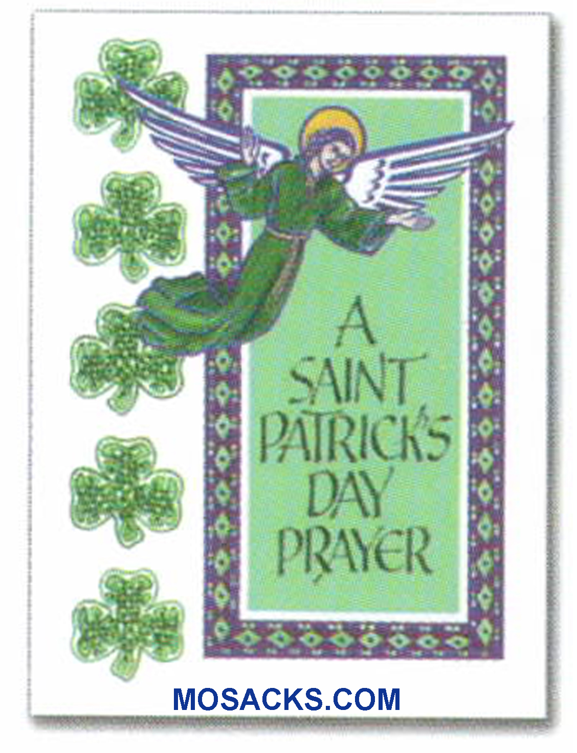 A Saint Patrick's Day Prayer Greeting Card -WCA5182