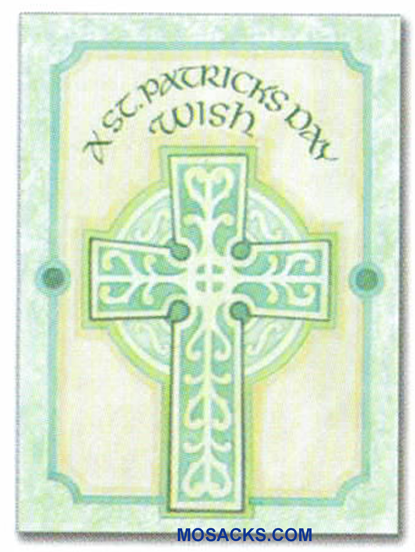 A St. Patrick's Day Wish Greeting Card -WCA8089