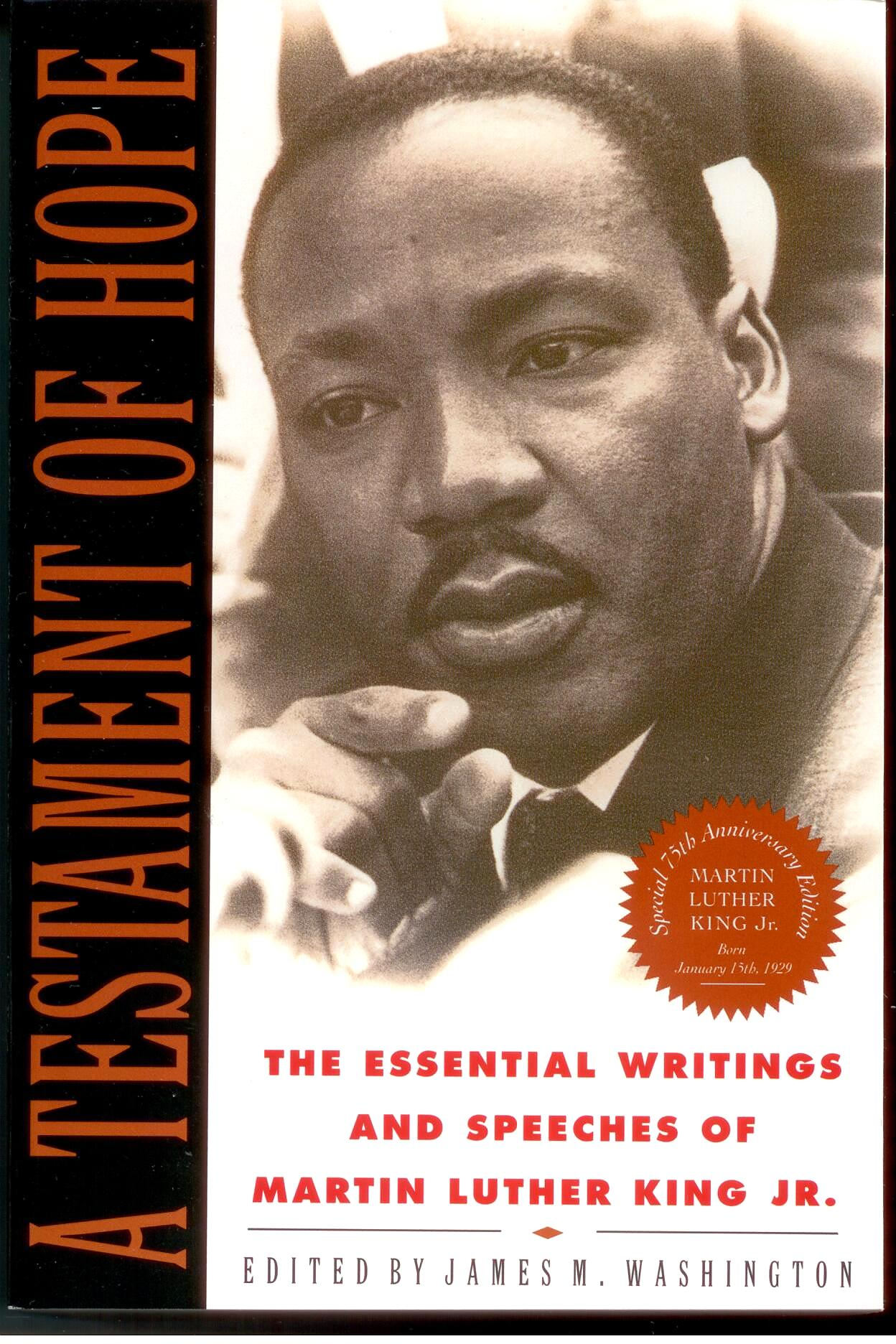A Testament Of Hope by Martin Luther King, Jr. 108-9780060646912