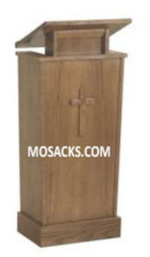 Church Furniture W  Brand Wooden Adjustable Lectern with one inside shelf  40-327