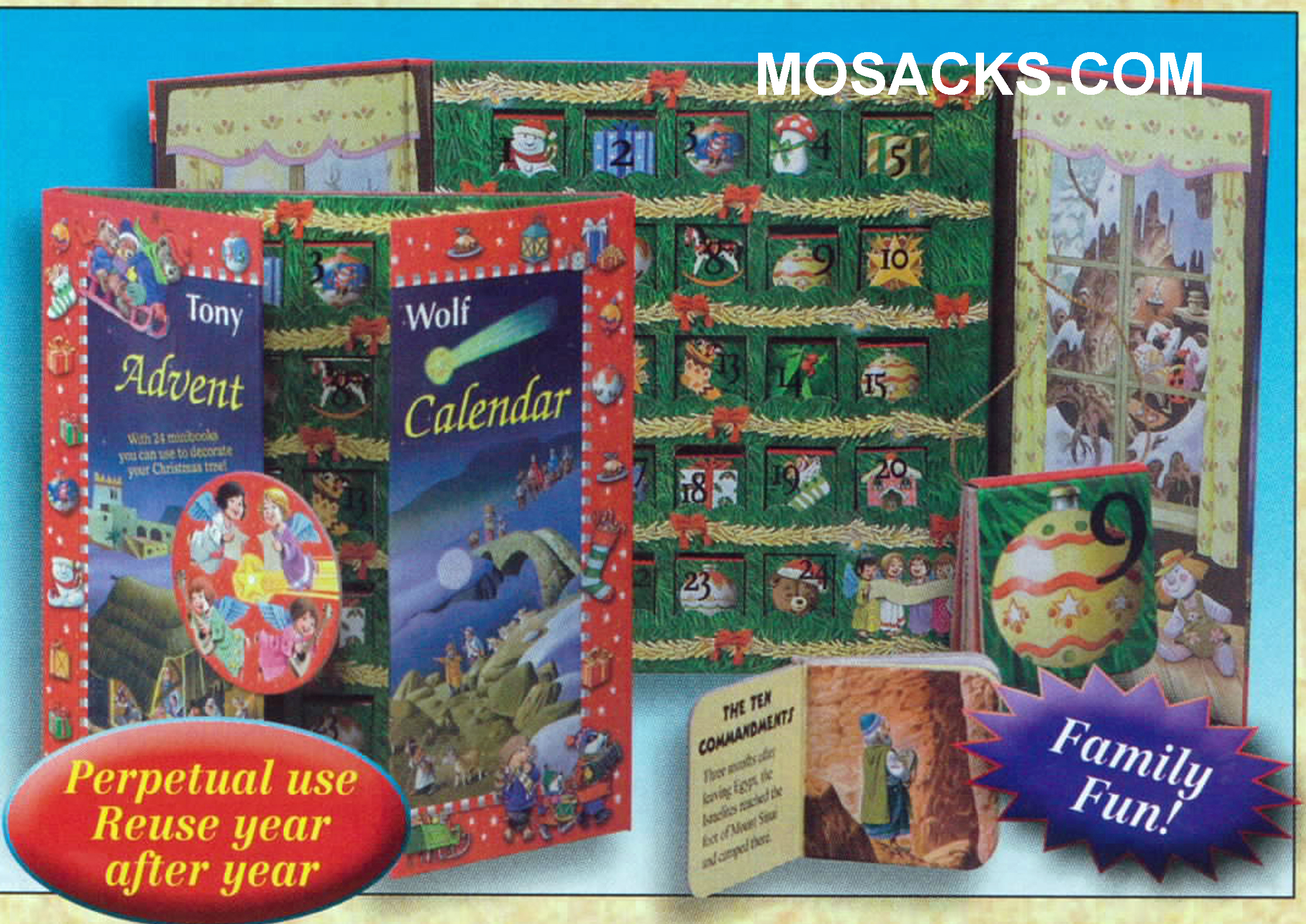 Advent Calendar With 24 Mini Books-84022