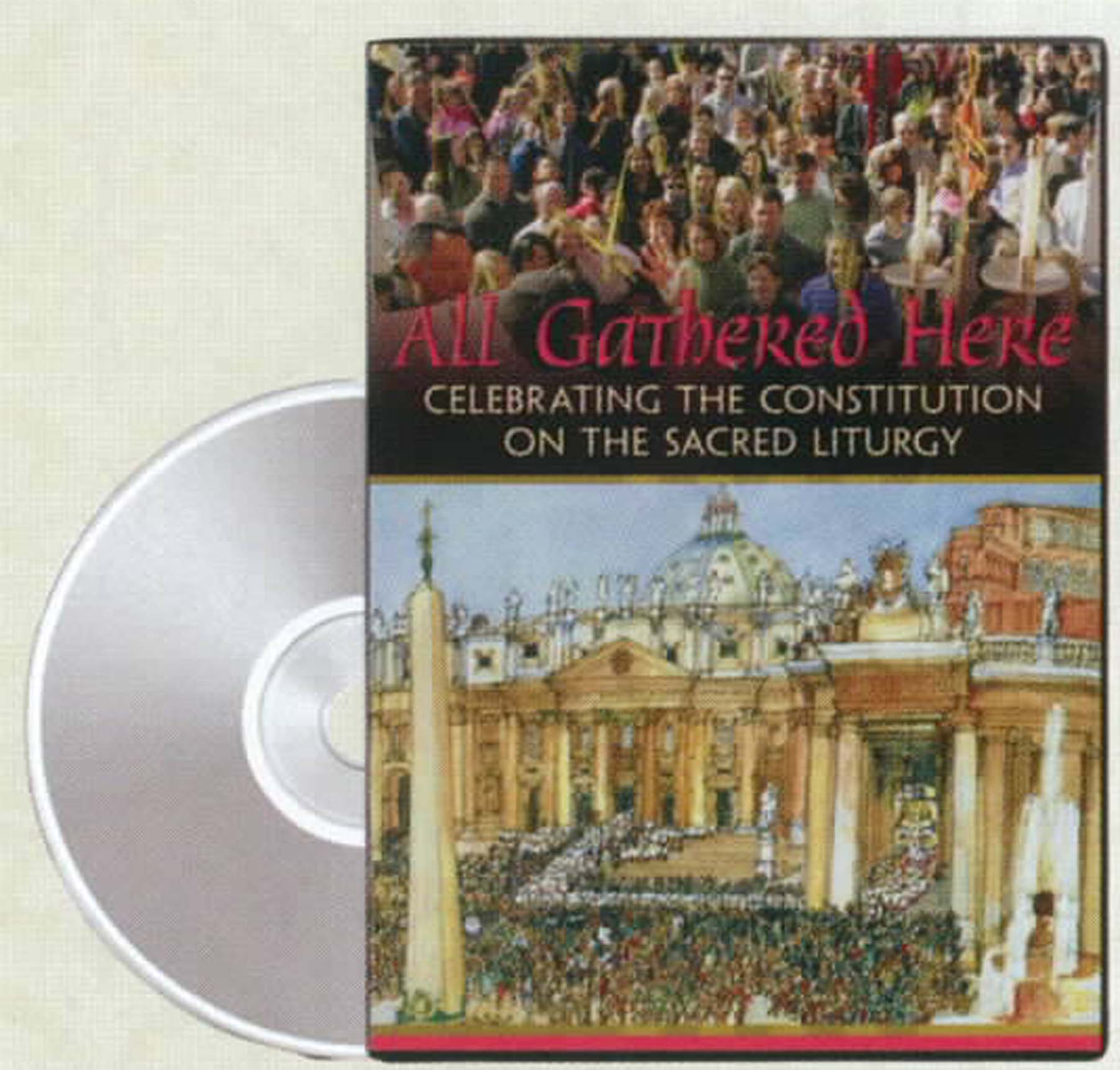 All Gathered Here DVD from LiturgyTraining Publications 120-9781616711771