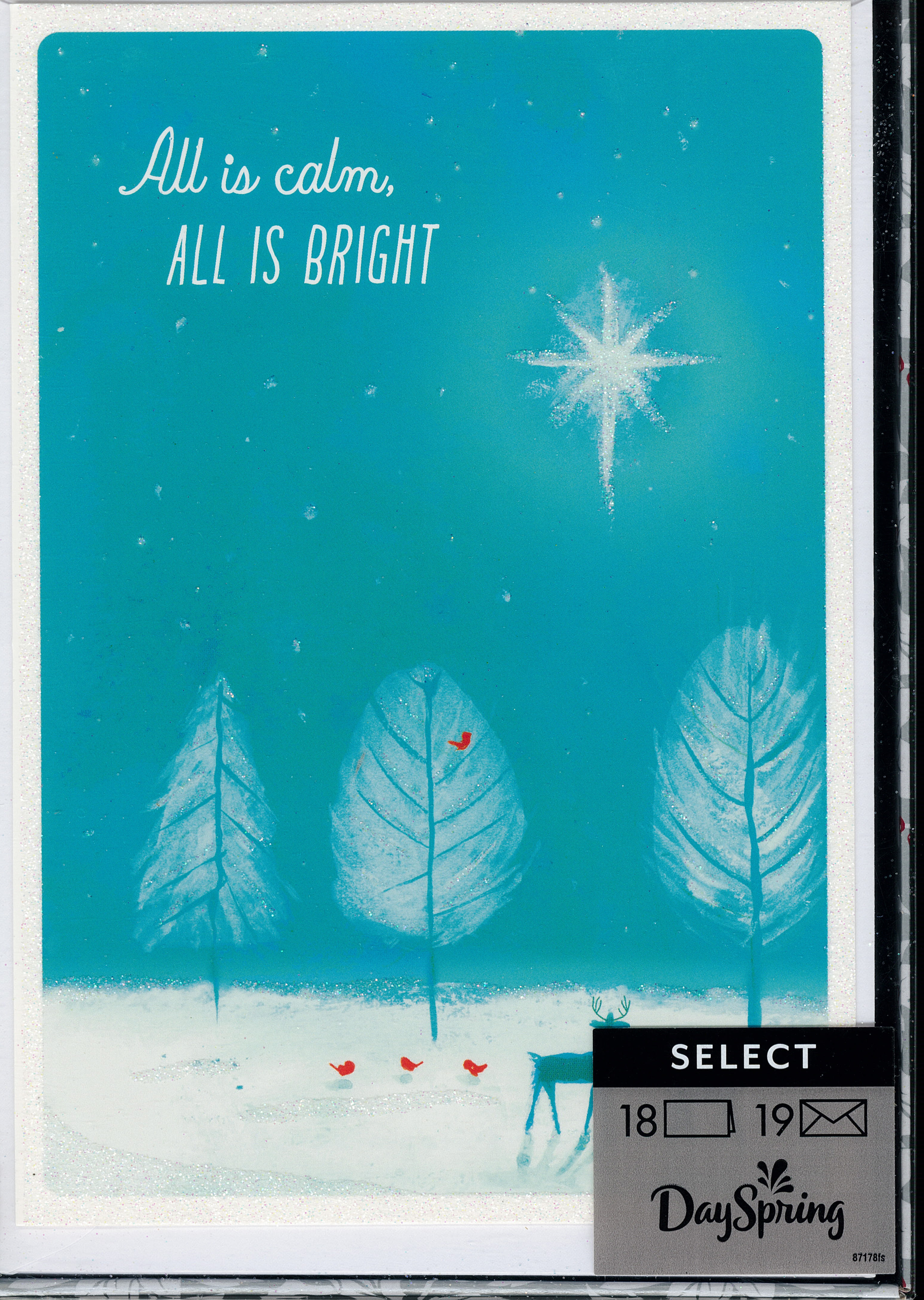 All is Calm Boxed Christmas Cards 217-J0430