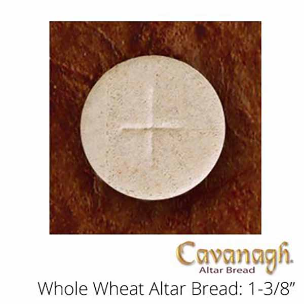 "Church Supplies Cavanagh Altar Bread Whole Wheat 1 1/8"" Diameter Church Goods"