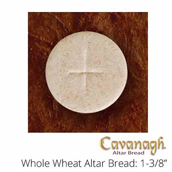 "Cavanagh Altar Bread Whole Wheat 1-3/8"" Diameter"