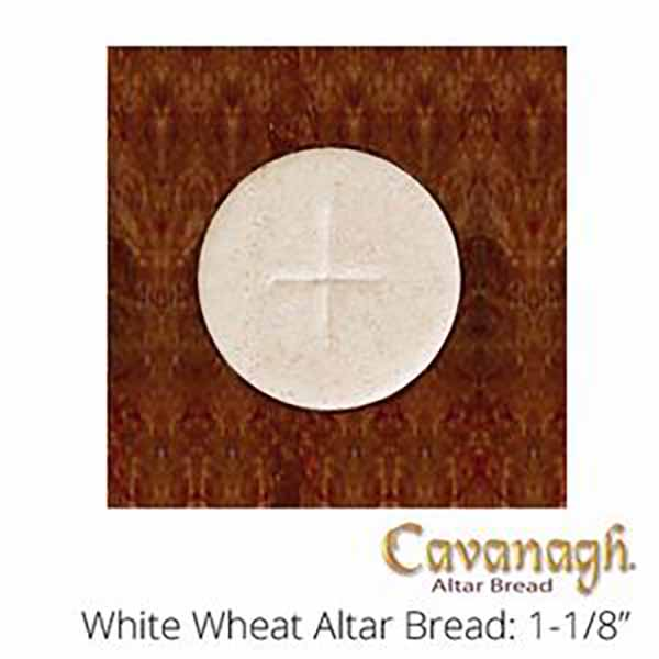 "Church Supplies Cavanagh Altar Bread White 1 1/8"" Diameter Church Goods"