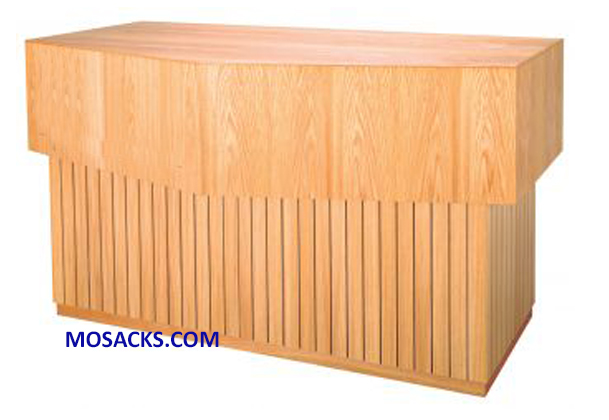 "Altar - Wood Altar 72"" wide x 36"" deep x 40"" high 40-3773"