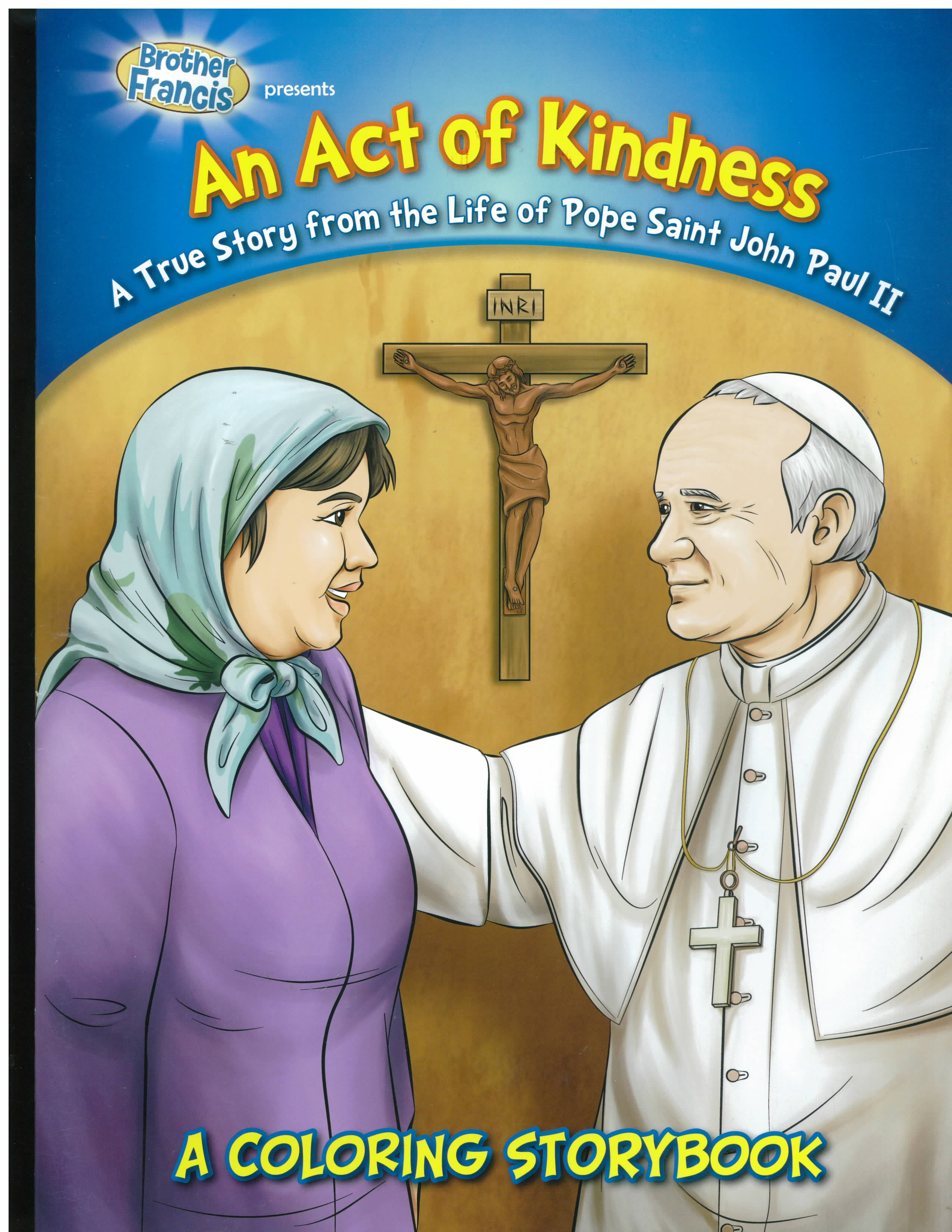 An Act of Kindness Coloring Storybook-CSB-ACT