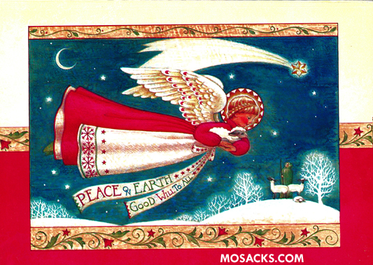 Angel Boxed Christmas Cards 63-C73977