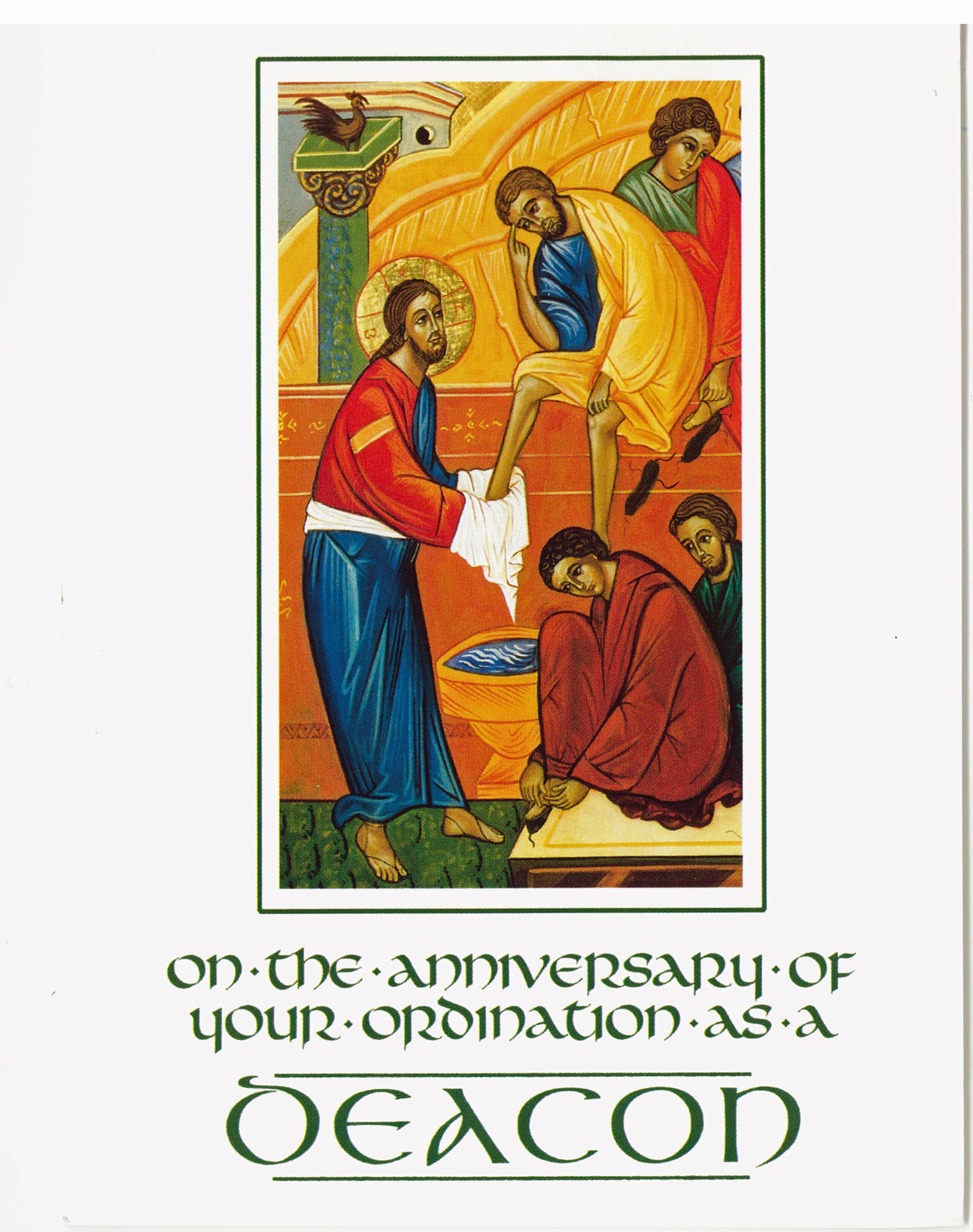 Anniversary Of Ordination As Deacon 277-CA8101