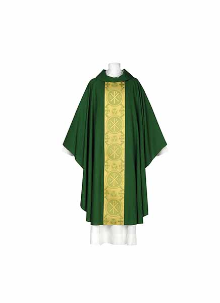 ArteGrosse Trinity Series Green Chasuble 102-0934