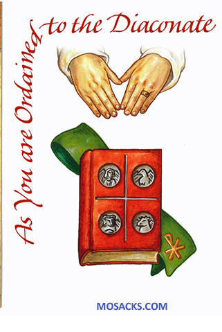 As You Are Ordained To The Diaconate Greeting Card 277-CB1544