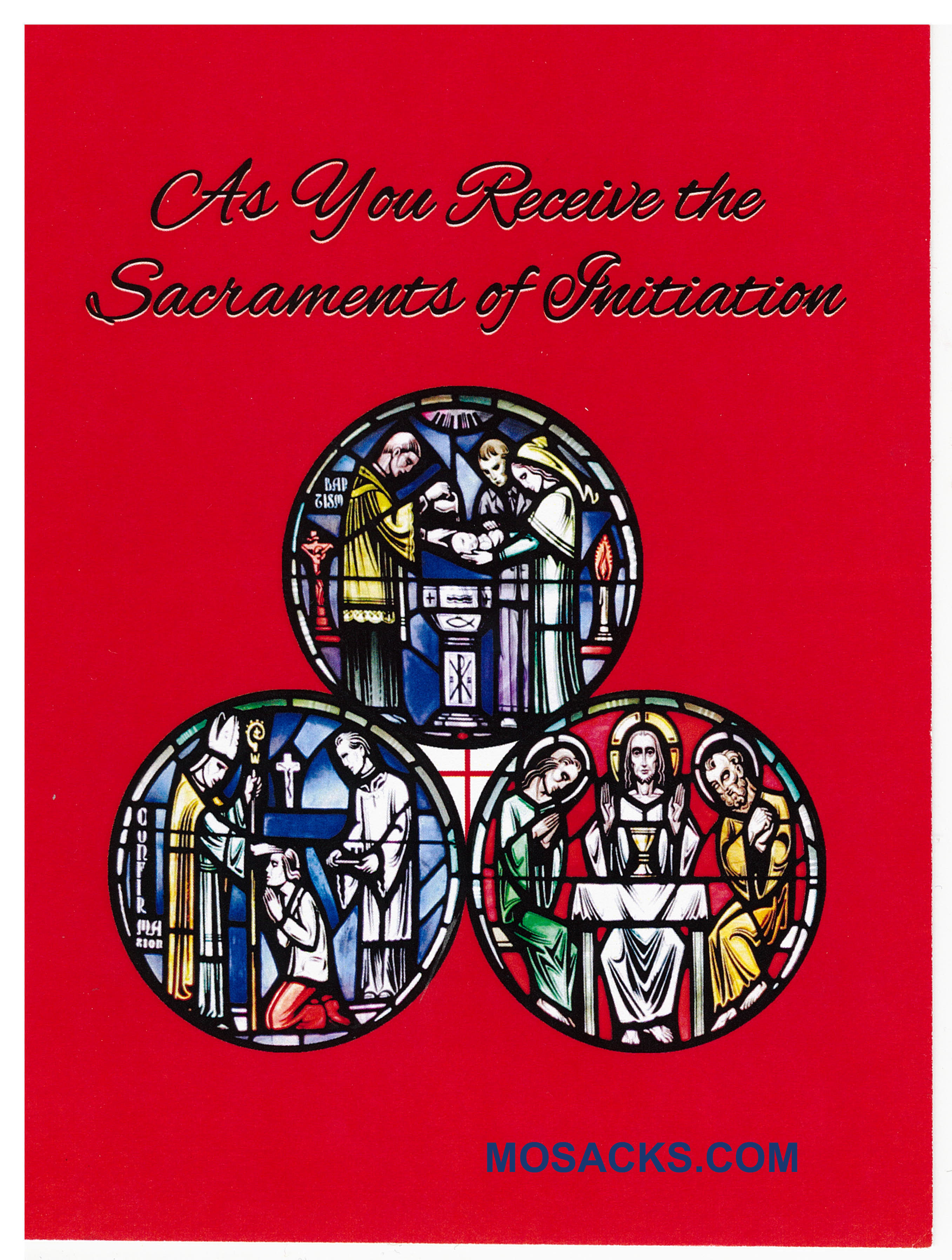 As You Receive The Sacraments Of Initiation Greeting Card -CA50083