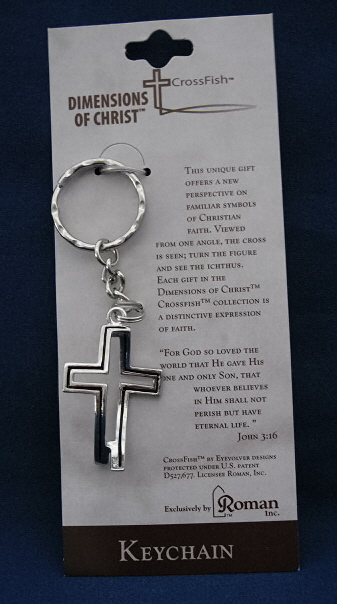 Dimensions Of Christ Keychain #63374