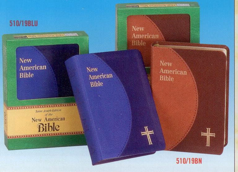 St. Joseph New American Bible Duotone Edition
