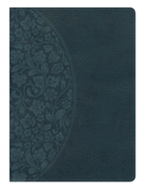 Holman Study Bible: NKJV Large Print Edition Dark Teal Leathertouch 9781433646157