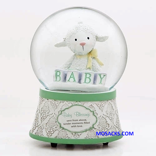 Baby Blessings Musical Glitterdome 20-14909