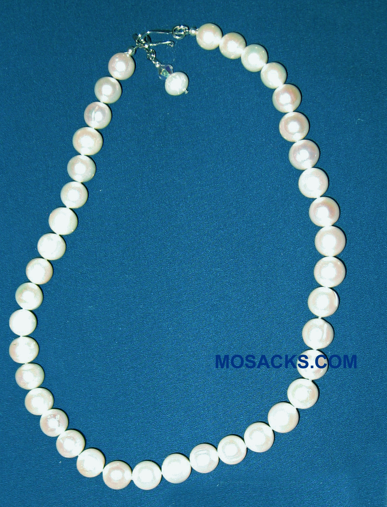 Baby South Sea Pearl 16 Inch White Necklace