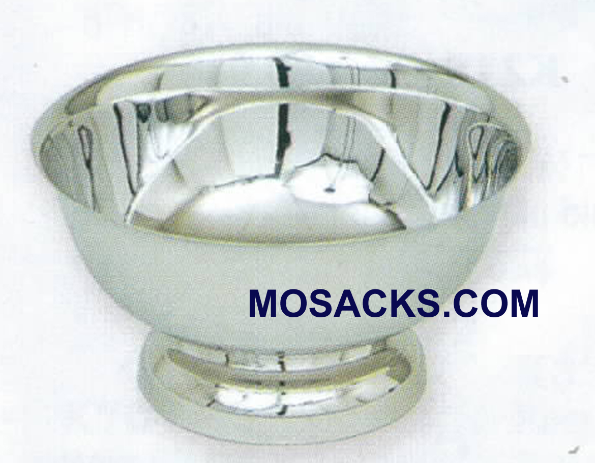 Baptismal Bowl Polished Stainless Steel-K345