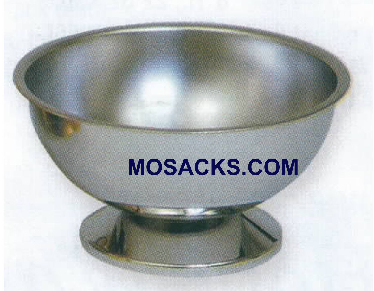 "Baptismal Bowl Stainless Steel 8"" diameter 4"" height-K307"