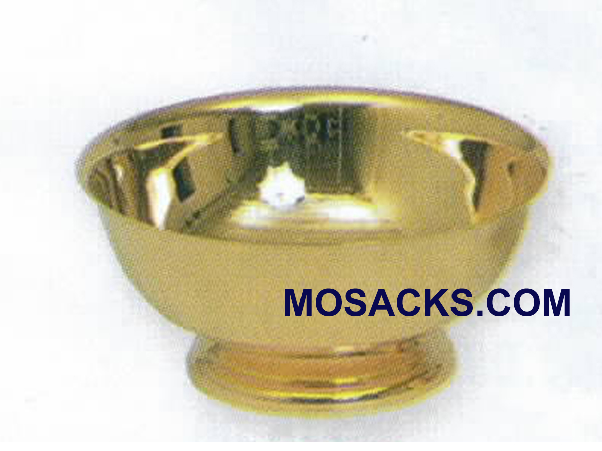 Baptismal Bowl or Lavabo Bowl 24K Gold Plated - K338G