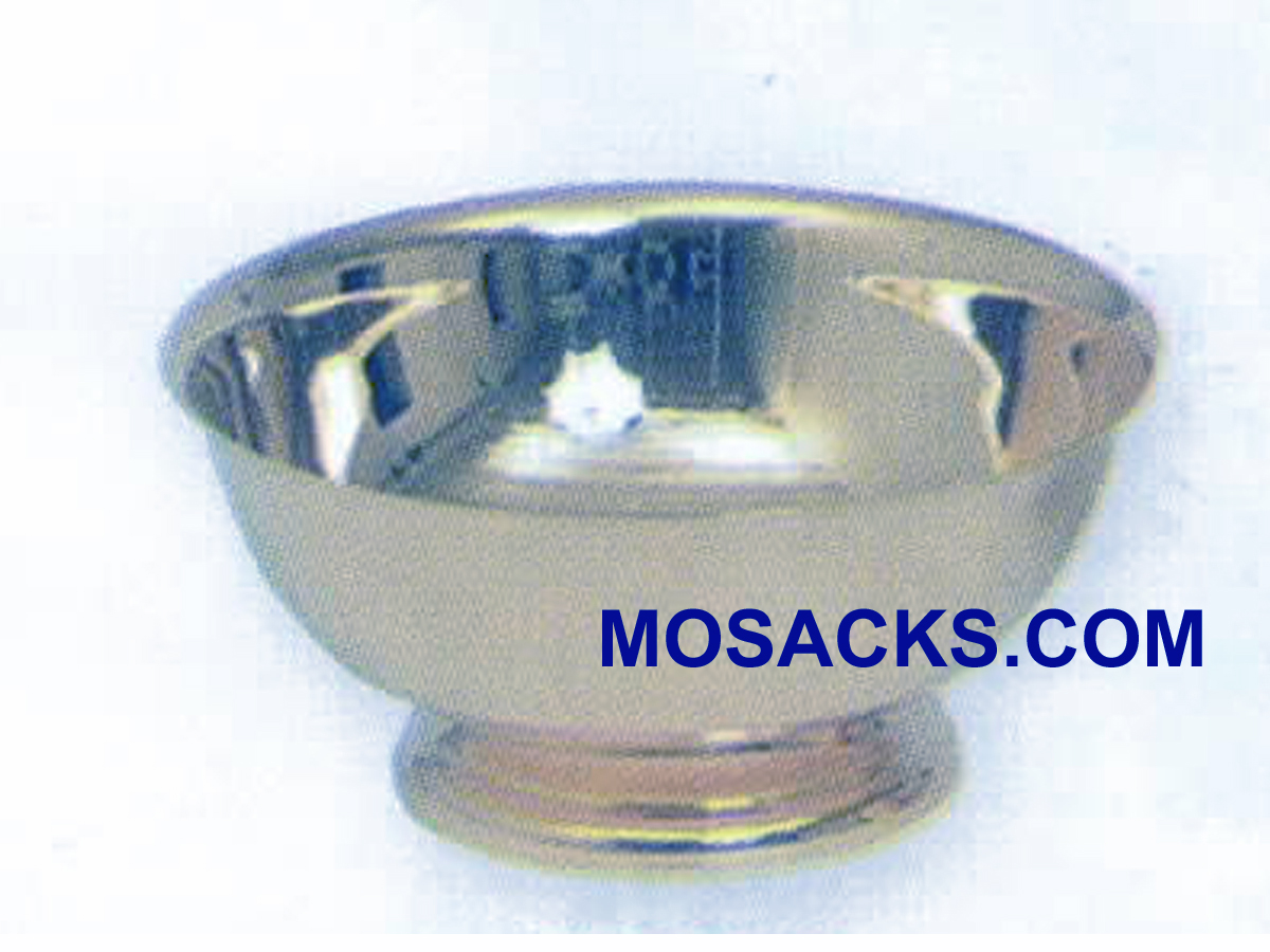 Baptismal Bowl or Lavabo Bowl Silver Plated - K338S