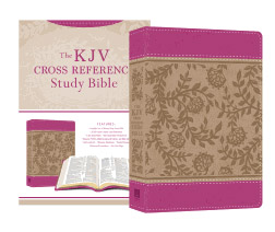 Barbour KJV Cross Reference Study Bible Compact Peony Blossoms 9781683225966