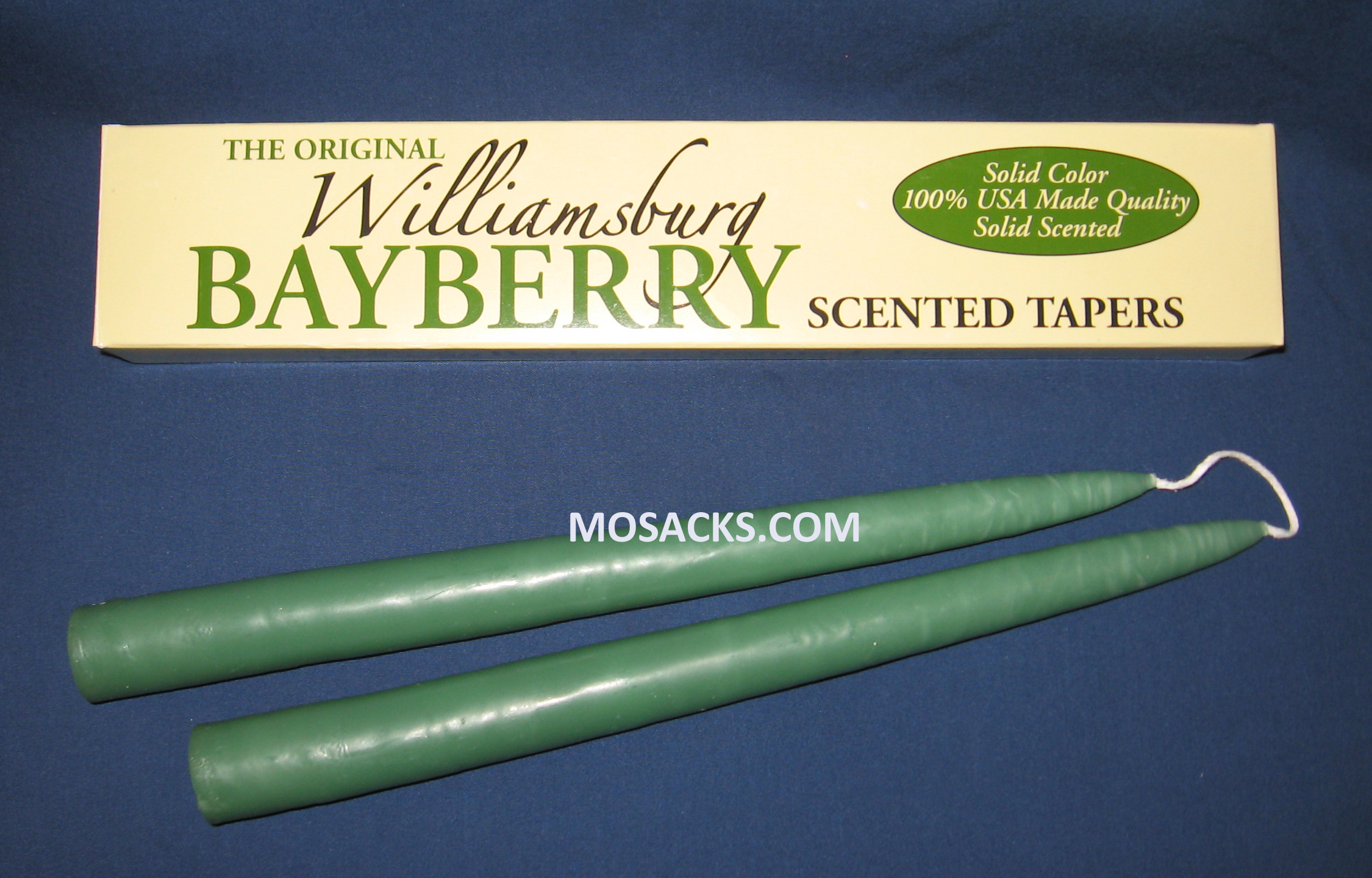Bayberry Scented Candle Tapers