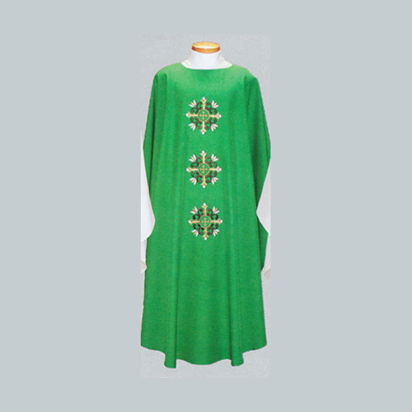 Beau Veste 3 Crosses Chasuble design on front & back -2019A