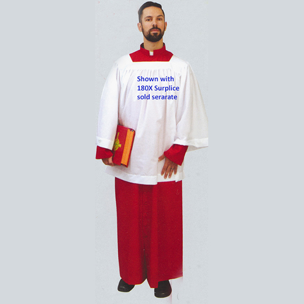 Beau Veste Adult and Priest Cassock in Red - 564R