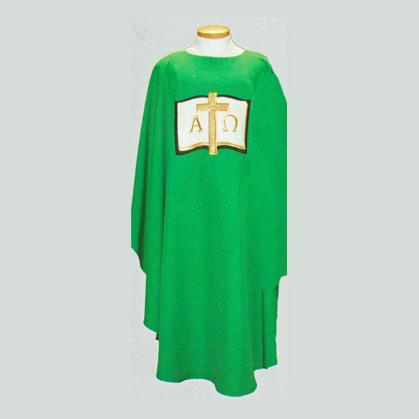 Beau Veste Alpha Omega Book Chasuble-2015