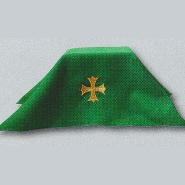 Beau Veste Chalice Veil with Cross 47X available in all Liturgical Colors