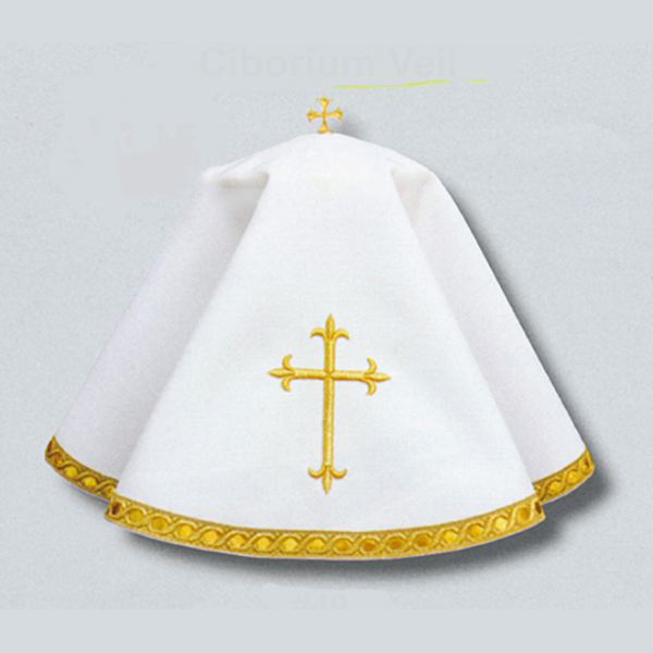 Beau Veste White Ciborium Veil #49 To be Quoted