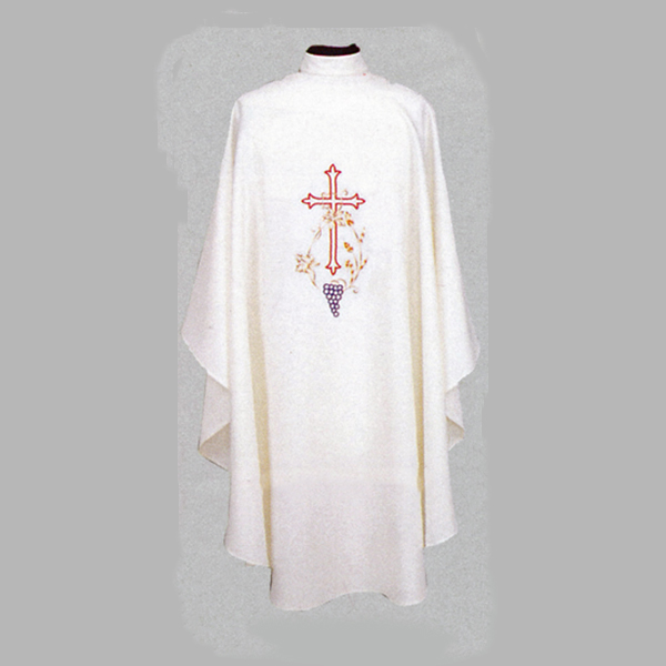 Beau Veste Cross And Grapes Chasuble-840